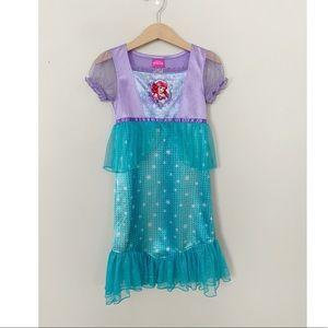 Disney Princess Arielle Dress Mermaid 4T